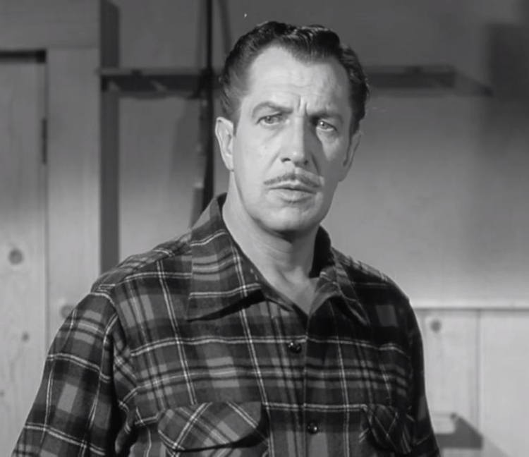 The Bat - Vincent Price in Flannel