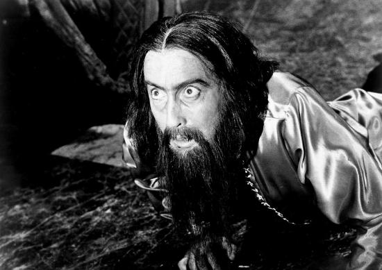 Christopher Lee as Rasputin