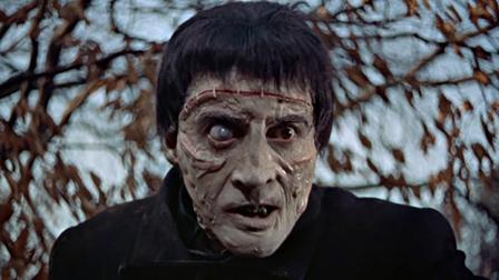 Christopher Lee in Curse of Frankenstein