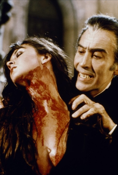 Christopher Lee in Dracula AD 1972