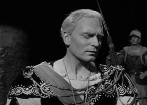 Christopher Lee in Hamlet